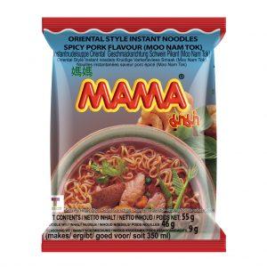 Mama Noedels kruidige varkensvlees smaak (moo nam tok) (媽媽即食麵)