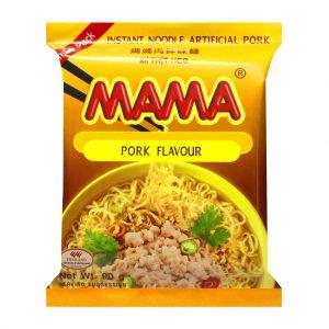 mama Noedels varkensvlees smaak jumbo (媽媽豬肉味麵)
