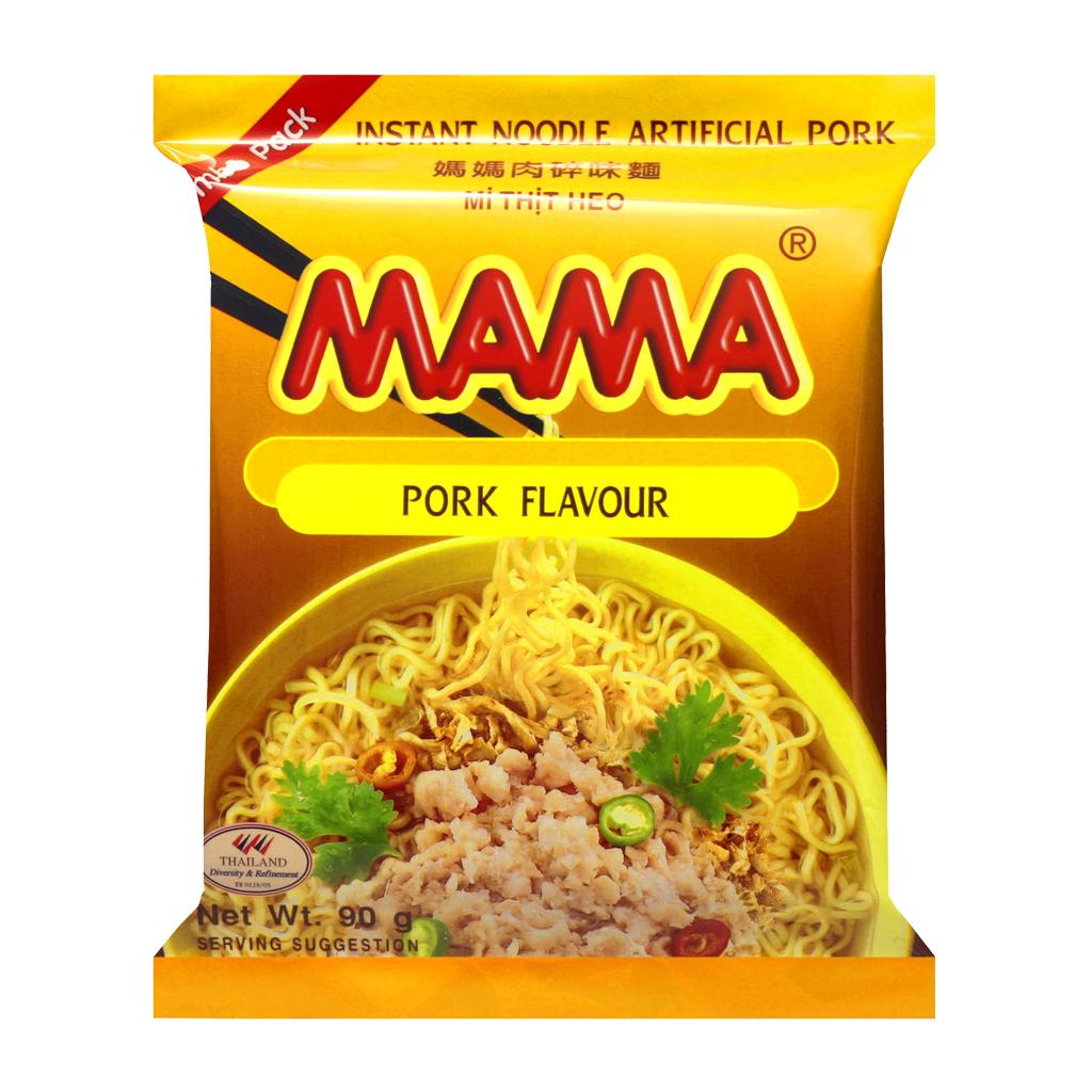 Noedels varkensvlees smaak jumbo (媽媽豬肉味麵)