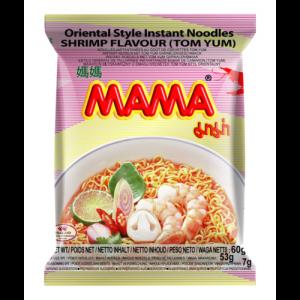 Mama Noedels tom yum garnalensmaak (媽媽泰式冬蔭麵)