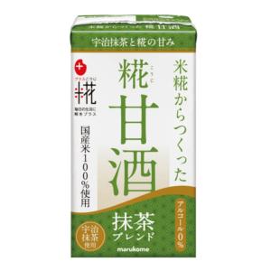 Marukome Koji amazake matcha flavor