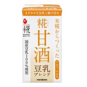 Marukome Koji amazake soy milk flavor