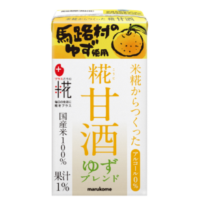 Marukome Koji amazake yuzu flavor