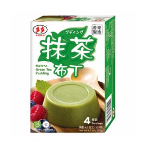 Torto  Matcha groene thee pudding