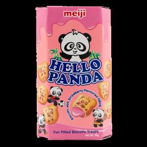 Meiji Hello panda cookies strawberry flavour