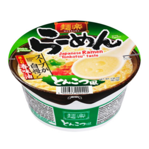 Menraku Bowl Japanese ramen tonkotsu flavour