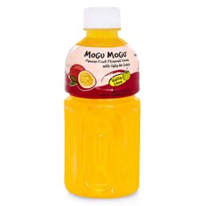 Mogu Mogu Passion fruit drink with nata de coco