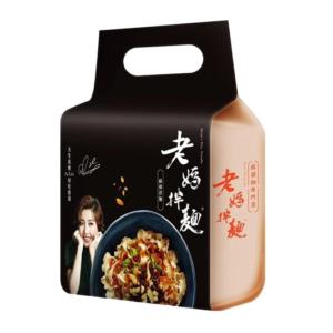 Mom's noodle Dry noodles Sichuan ma la flavor (老妈拌面 麻辣味)