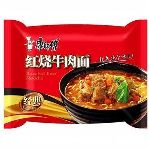 Mr. Kon Noedels geroosterd rundvlees aroma (康师傅 红烧牛肉面)