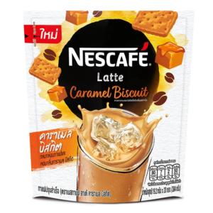 Nescafe Nescafe latte caramel biscuit flavor