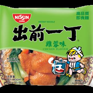 Nissin Noedels kip smaak (出前一丁雞蓉麵)
