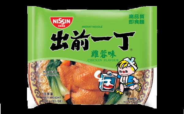 Nissin Noodles chicken flavour (出前一丁雞蓉麵)