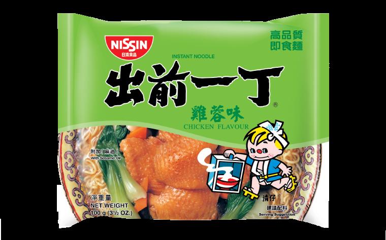 Noodles chicken flavour (出前一丁雞蓉麵)