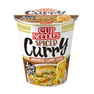 Nissin Cup noedels japanse curry smaak