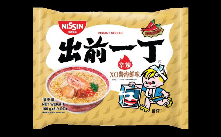 Noedels xo saus zeevruchtensmaak (出前一丁XO醬海鮮麵)