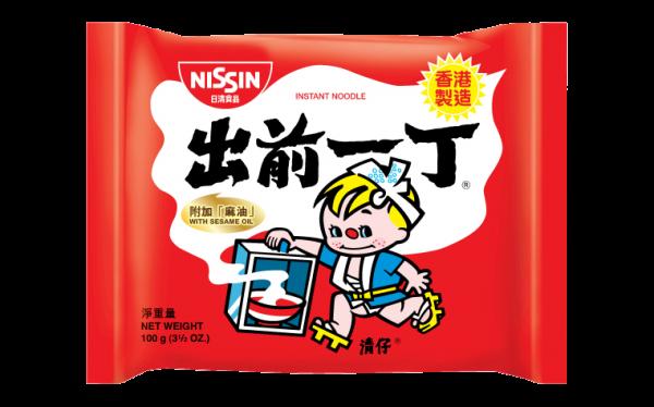 Nissin Noedels sesam olie smaak (出前一丁麻油麵)