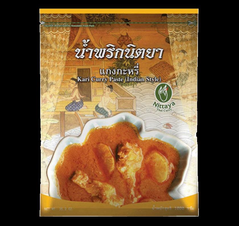 Kari yellow curry paste (Indian style)