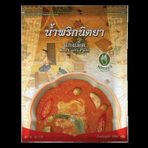 Nittaya Red curry paste