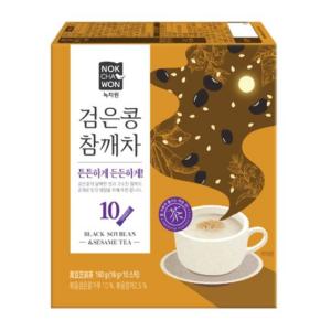 Nok Cha Won Black soybean & sesame tea (녹차원 검은콩참깨차)