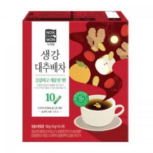 Nok Cha Won Ginger & jujube & pear tea (녹차원 생강대추배차)