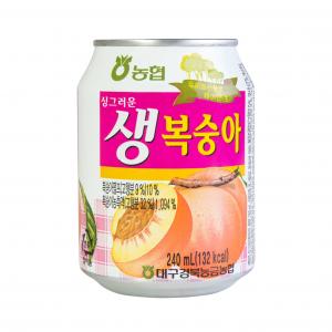Nonghyup Koreaanse perzik drank (농협 생복숭아 쥬스)