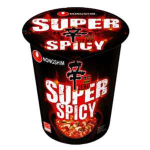 Nongshim Cup noodle shin red super spicy