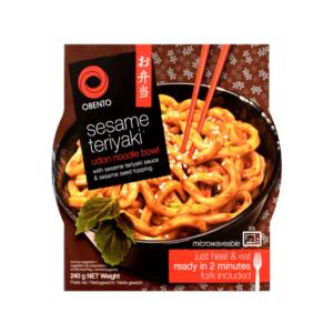 Obento Obento sesame teriyaki udon noodle bowl (芝麻照燒醬烏冬)