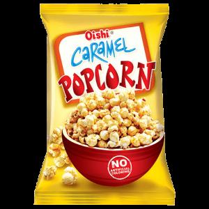 Oishi Karamel popcorn