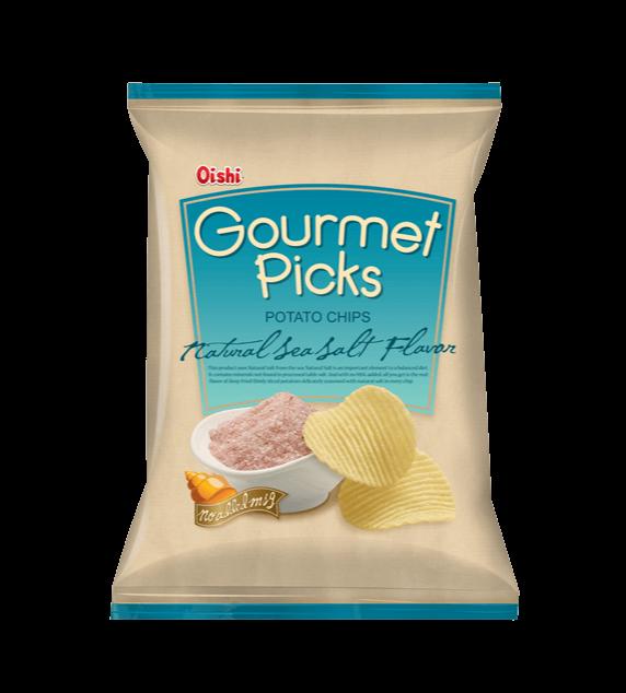 Aardappel chips met natuurlijke zeezout smaak