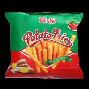 Oishi Aardappel frietjes tomaten ketchup smaak