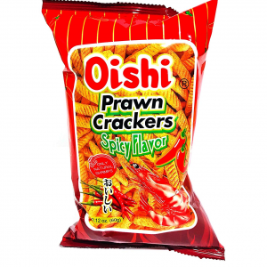 Oishi  Garnalen crackers pikant