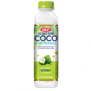OKF Kokos drank met kokos jelly