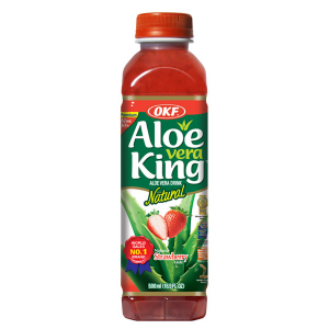 OKF Aloe vera drank met aardbei smaak