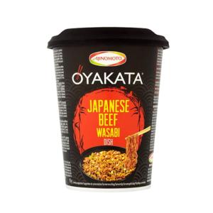 Oyakata Cup noedels Japanse rundvlees met wasabi smaak