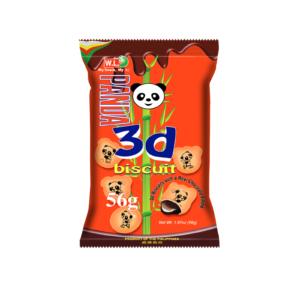 W.L. Foods  Panda 3D choco flavour biscuit