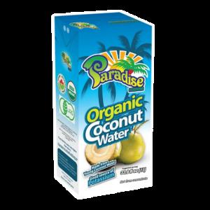 Paradise brand Organic coconut water