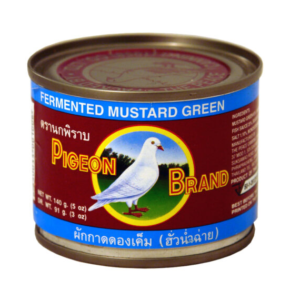 Pigeon Gefermenteerde mosterdkool in sojasaus