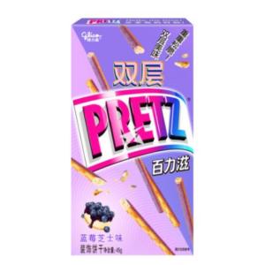 Glico  Biscuit sticks blueberry cheesecake flavour