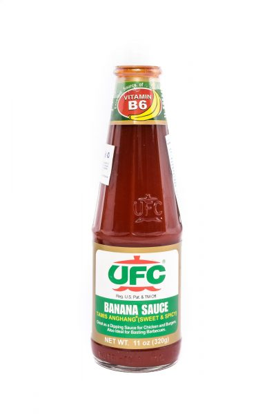 UFC Bananensaus (zoet & pikant)