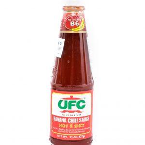 UFC Bananensaus (heet & pikant)