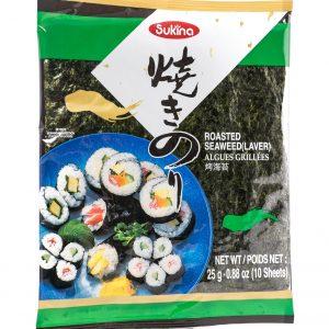 Sukina Geroosterd zeewier voor sushi