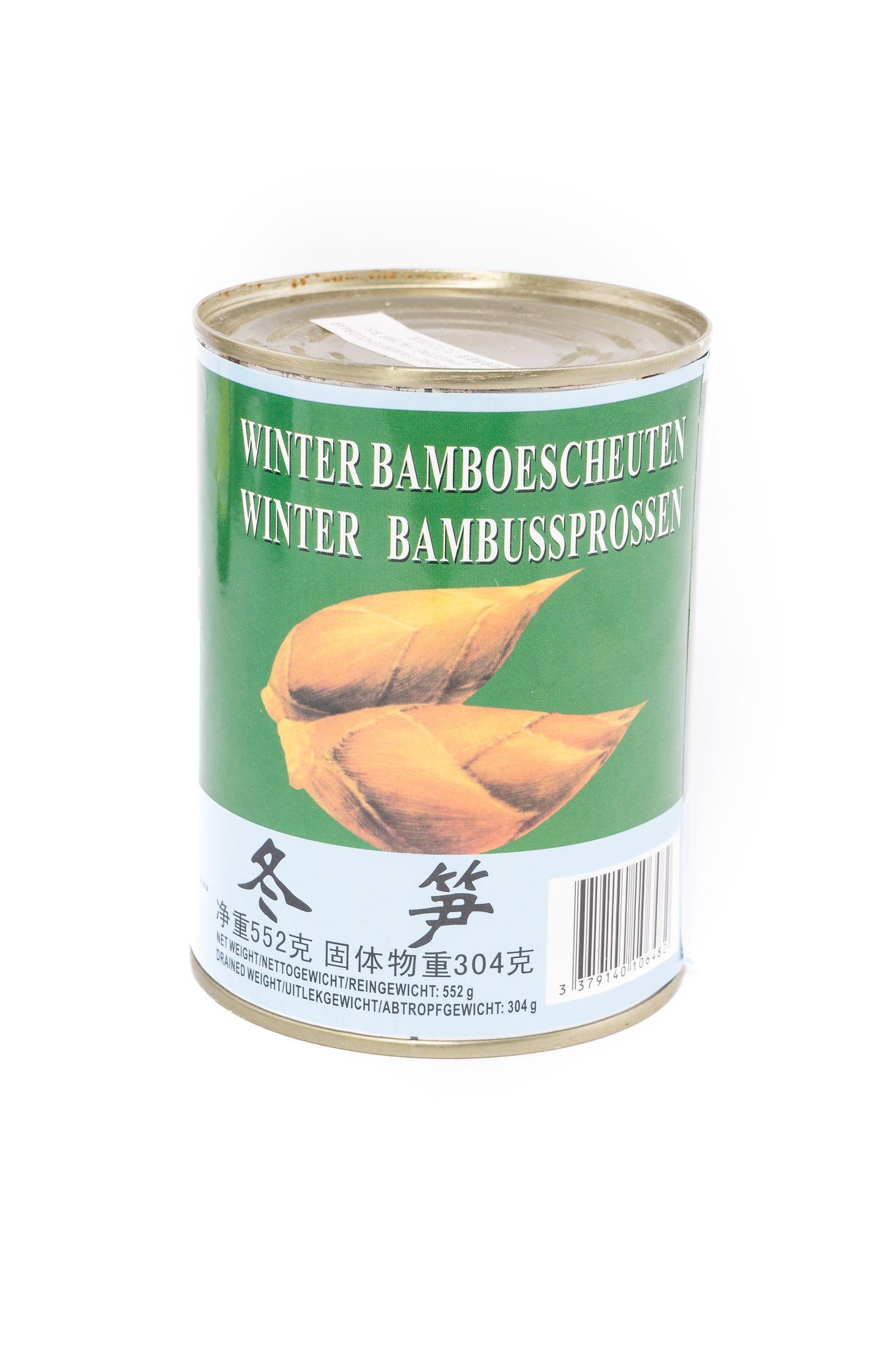 Winter bamboescheuten
