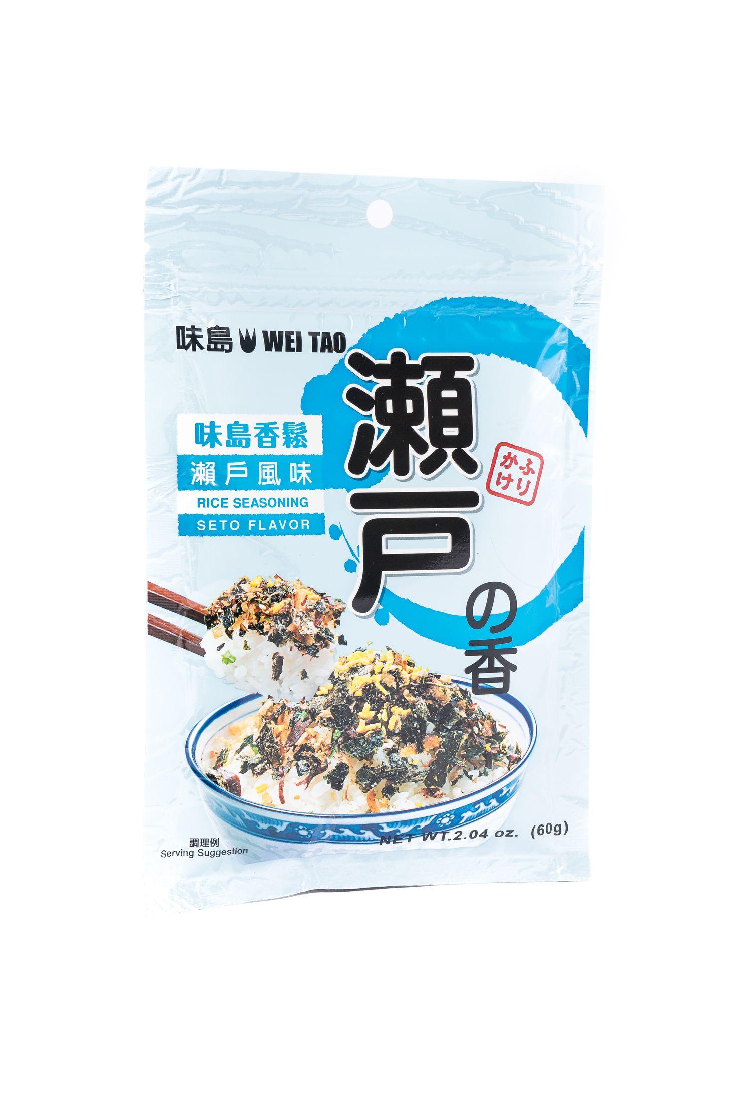 Seto fumi furikake-rijstkruiden seto smaak
