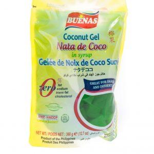 Buenas Nata de coco groen in siroop