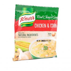 Knorr Kip en maissoep mix