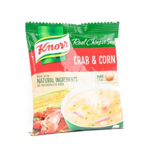 Knorr Krab en maissoep mix