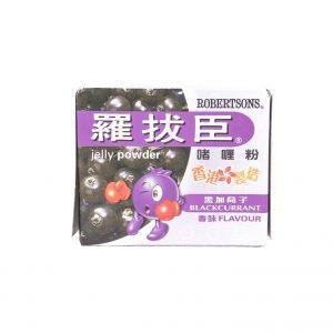Robertsons Jelly poedermix zwarte bes smaak