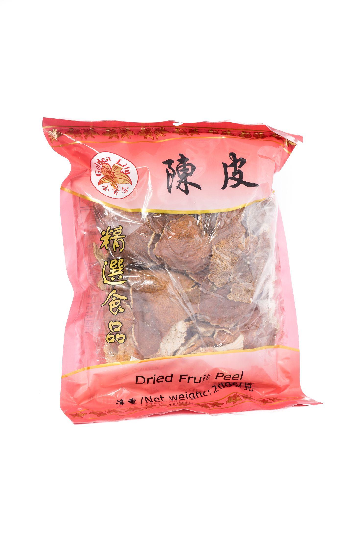 Dried fruit peel (陳皮)