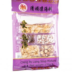 Golden lily ching po liang soep mix (清補涼湯料)