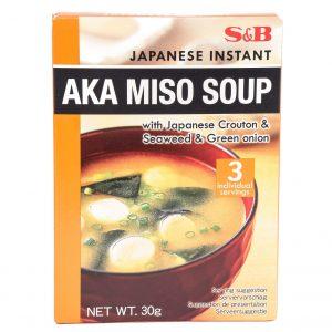 S&B Japanse instant rode miso soep